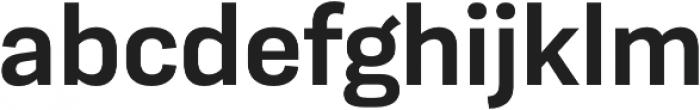 Moderna Sans Medium otf (500) Font LOWERCASE