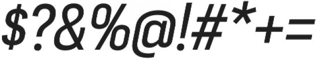 Moderna Sans Regular Cnd It otf (400) Font OTHER CHARS