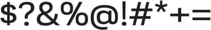 Moderna Sans Regular Ext otf (400) Font OTHER CHARS