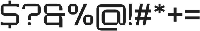 Modernhead Serife Regular otf (400) Font OTHER CHARS