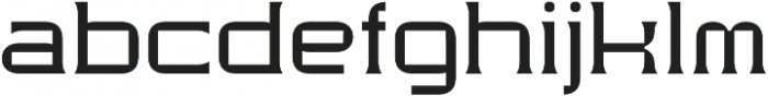 Modernhead Serife Regular otf (400) Font LOWERCASE