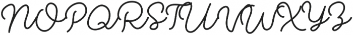 Modesta Monoline otf (400) Font UPPERCASE