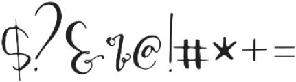 ModestyAlt2 otf (400) Font OTHER CHARS