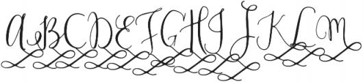ModestyAlt2 otf (400) Font UPPERCASE