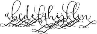 ModestyAlt2 otf (400) Font LOWERCASE