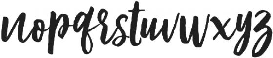 Modestyle Alt Regular otf (400) Font LOWERCASE