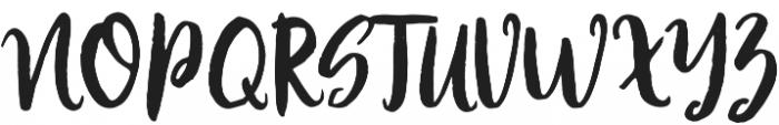 Modestyle Regular otf (400) Font UPPERCASE