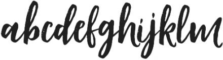Modestyle Regular otf (400) Font LOWERCASE