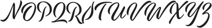 Modish otf (400) Font UPPERCASE