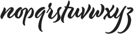Modish otf (400) Font LOWERCASE