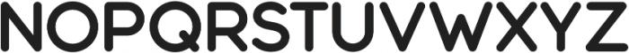 Modulus Pro Bold otf (700) Font UPPERCASE