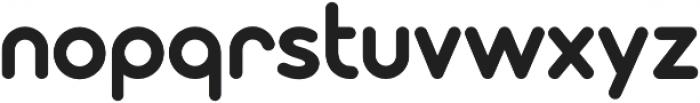 Modulus Pro Bold otf (700) Font LOWERCASE