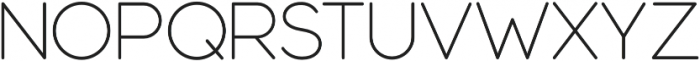 Modulus Pro Light otf (300) Font UPPERCASE