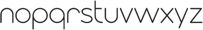 Modulus Pro Light otf (300) Font LOWERCASE