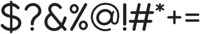 Modulus Pro Medium otf (500) Font OTHER CHARS