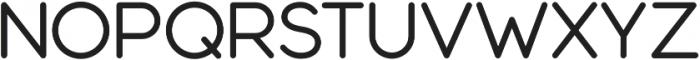 Modulus Pro Medium otf (500) Font UPPERCASE