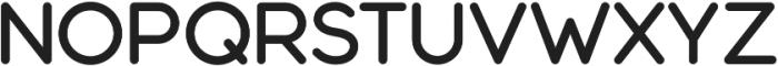 Modulus Pro Semi Bold otf (600) Font UPPERCASE