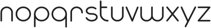 Modulus ttf (500) Font LOWERCASE