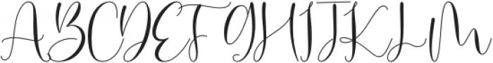 Modylove otf (400) Font UPPERCASE
