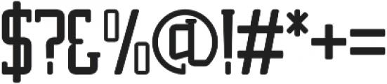 Moeza otf (400) Font OTHER CHARS