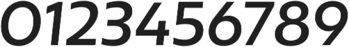 Mohr Medium It otf (500) Font OTHER CHARS