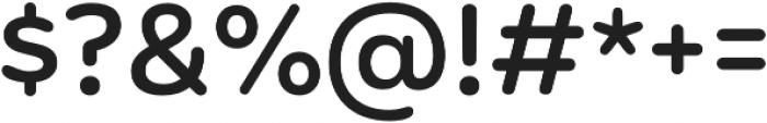 Mohr Rounded Medium otf (500) Font OTHER CHARS