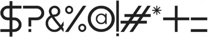 Moiser otf (400) Font OTHER CHARS