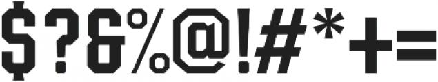 Moister-Block otf (400) Font OTHER CHARS