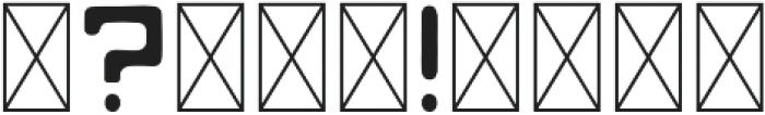 Mojave Regular otf (400) Font OTHER CHARS