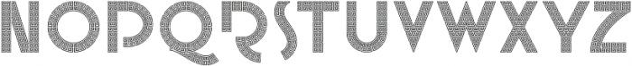 Mojita ttf (400) Font UPPERCASE