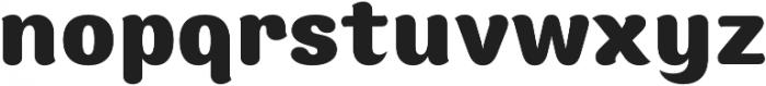 Moku Brush ExtraBold otf (700) Font LOWERCASE