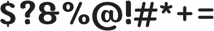 Moku Brush SemiBold otf (600) Font OTHER CHARS