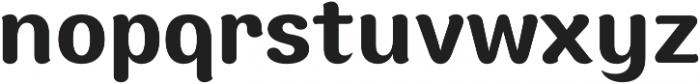 Moku Brush SemiBold otf (600) Font LOWERCASE