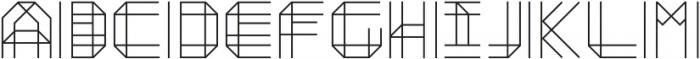 Moku26 ttf (400) Font UPPERCASE