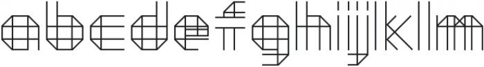 Moku26 ttf (400) Font LOWERCASE