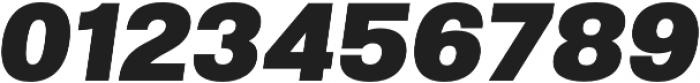 Molde Black Italic otf (900) Font OTHER CHARS