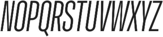 Molde Compressed-Medium Italic otf (500) Font UPPERCASE