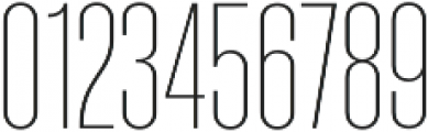 Molde Compressed-UltraLight otf (300) Font OTHER CHARS