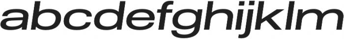 Molde Expanded-Medium Italic otf (500) Font LOWERCASE