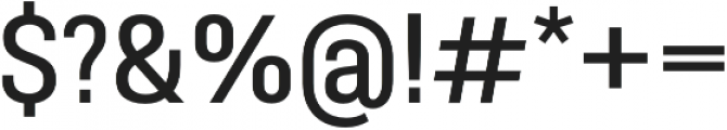 Molde SemiCondensed-Medium otf (500) Font OTHER CHARS