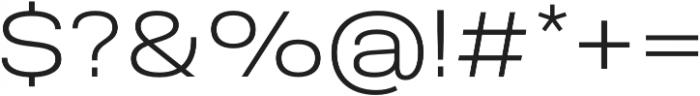 Molde SemiExpanded-Light otf (300) Font OTHER CHARS