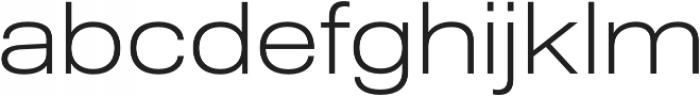 Molde SemiExpanded-Light otf (300) Font LOWERCASE