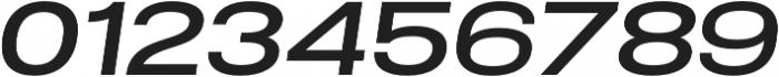 Molde SemiExpanded-Medium Italic otf (500) Font OTHER CHARS