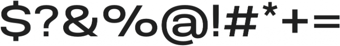 Molde SemiExpanded-Medium otf (500) Font OTHER CHARS