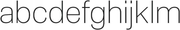 Molde UltraLight otf (300) Font LOWERCASE