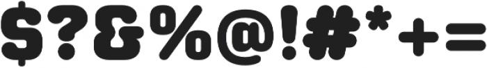 Moldr Black otf (900) Font OTHER CHARS