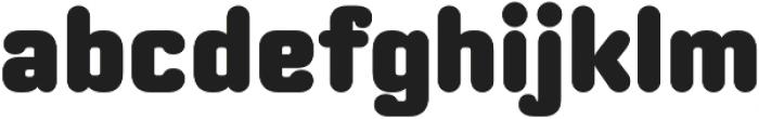 Moldr Black otf (900) Font LOWERCASE