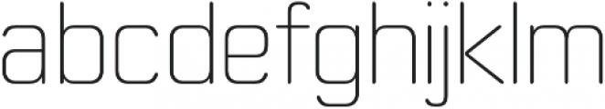 Moldr ExtraLight otf (200) Font LOWERCASE