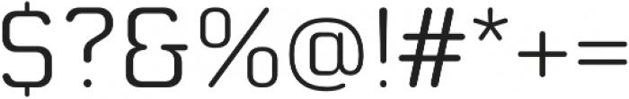 Moldr SemiLight otf (300) Font OTHER CHARS
