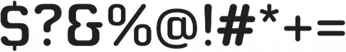 Moldr Thai Medium otf (500) Font OTHER CHARS